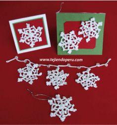copos de nieve - snowflakes crochet