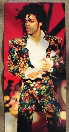 Purple Rain Tour Book Centerfold!
