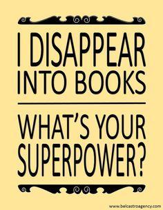 Bookworms will appreciate this.