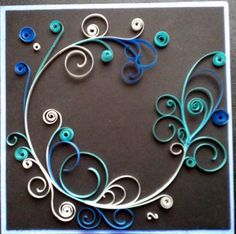 Quilling - scroll work