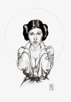 Princess Leia Organa Comic Art