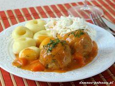 Pulpety w sosie pomidorowym - Domowe Potrawy