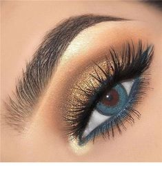 Make Up - 14 Shimmer Eye Makeup Ideas for Stunning Eyes - Double The Eyeliner Simple Eye Makeup, Natural Eye Makeup, Eye Makeup Tips, Makeup Goals, Beauty Makeup, Makeup Ideas, Makeup Hacks, Makeup Inspo, Makeup Products