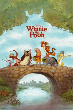Winnie the Pooh..so LOVE this movie..remember rocking and holding my girls, thumbs in mouth, hair twirling, glued to the show, creating memories of mommy me time. Now they are teens...priceless memories