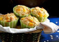 Mango Coconut Muffins - Moist, soft these glutefree muffins pack a tropical punch of flavour with mango and toasted coconut! Mango Muffins, Coconut Muffins, Savory Muffins, Coconut Popsicles, Fun Baking Recipes, Artisan Food, Toasted Coconut, Summer Fruit, Gluten Free Baking