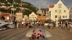 Bergen, aperitivo suculento a los fiordos.