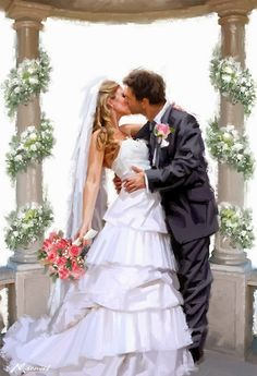 Tips For Planning The Perfect Wedding Day – Divine Bridal Wedding Prints, Wedding Art, Wedding Album, Wedding Images, Wedding Pictures, Wedding Flowers, Just Married Car, Creation Photo, Wedding Illustration