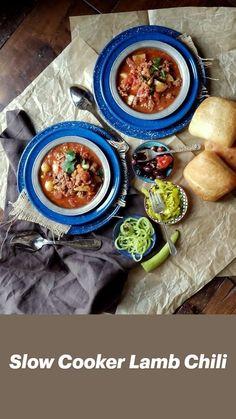 Easy Lamb Recipes, Ground Lamb Recipes, Healthy Recipes, Chili Recipes, Great Recipes, Dinner Recipes, Recipe Ideas, Lamb Chili Recipe, Chili Seasoning Mix
