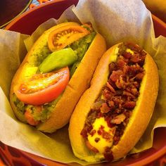 Check Out Maui\'s Dog House in Wildwood, NJ as seen on Diners, Drive-ins and Dives and featured on TVFoodMaps. Known for Best hot dogs in wildwood