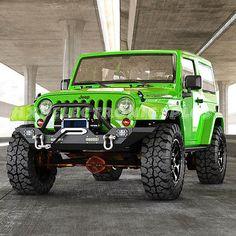 New Front Bumper +LED Lights +D-Rings +Winch Plate Jeep JK Wrangler/Rock Crawler