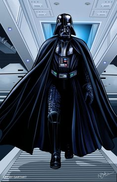 Darth Vader by GARTART on deviantART
