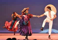 Ballet folklorico de Mexico  Revolucion omg I really want to dance this again!!! The dresses are so beautiful!