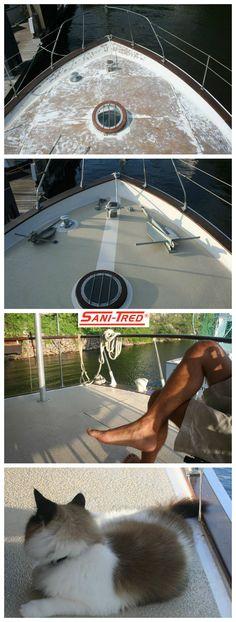 Boat Deck Coating & Repair