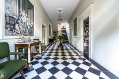 Неоклассика: вдохновляющий стиль в интерьере и 80 лучших дизайнерских воплощений http://happymodern.ru/neoklassika-stil-v-interere-foto/ Шахматный пол из керамогранита