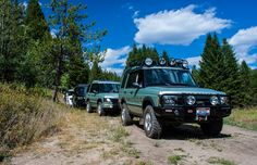 On the Trail  #landrover #discovery #offroad
