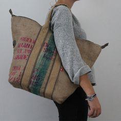 Jute Bag Coffee Bean Bags, Coffee Sacks, Sacs Tote Bags, Reusable Tote Bags, Hessian Bags, My Style Bags, Feed Bags, Rice Bags, Sack Bag