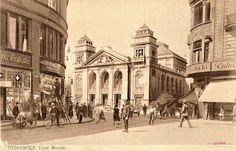 Teatr Miejski (Stadt Theater), Bydgoszcz - 1925 rok, stare zdjęcia Germany And Prussia, Old Photographs, Krakow, Boy Scouts, Dresden, Poland, Taj Mahal, Street View, Landscape