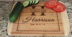 Large Personalized Cutting Boards