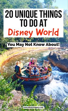 20 unique things to do at Disney World   20 coolest things to do in Disney World   what to do at disney   best disney attractions   disney rides   best things to do at disney   disney travel tips   disney vacation planning tips #disney #disneyworld
