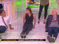 TPMS : Henri Leconte se rince l'œil sur les fesses de Clio Pajczer (Vidéo)