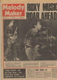 Gram Parsons/Led Zeppelin-Melody Maker Magazine 1973 Ralph Mctell, Magazine Maker, Gram Parsons, Roxy Music, Music Magazines, Led Zeppelin, Pink Floyd, Movie Posters, Film Poster