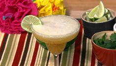the chew | Recipe  | Clinton Kelly's Ginger Peach Champagne Margarita