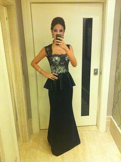 Vestido longo da Dani Messih | Usei Uma Vez