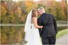 Aurora Ohio Fall Wedding | October Fall Leaves | Loren Jackson Photography | Photographer Akron Ohio
