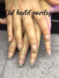 hard gel overlay on natural nails \ hard gel overlay on natural nails Gel Overlay, Strong Nails, Natural Nails, Overlays, Traditional, House, Home, Homes, Natural Looking Nails