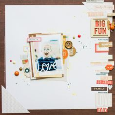 All That Scrap: Layouts
