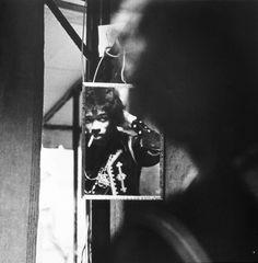 Jimi Hendrix Backstage @ The Forest Hills Tennis Stadium, 1967
