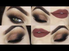 Esfumado na Diagonal COM TRUQUE! Maquiagem para INICIANTES - Makeup Tuto...