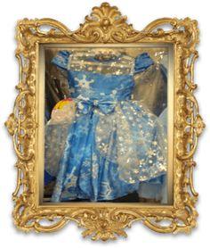 Vestido Temático Frozen REF: BC112