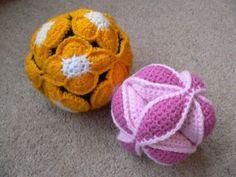 Crochet Puzzle Ball Tutorial