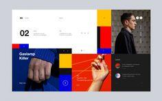 Hora de un cambio: Mondrianism en Web Design | NOUPE