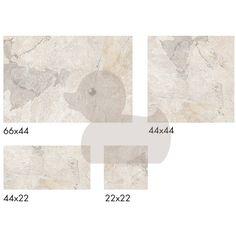 Dlažba Cumbria white 44x66, 44x44, 22x22, 22x44 cm, mat | SIKO