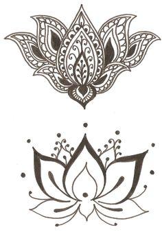 Lotus&- Flower symbol of   spirituality, beauty, femininity, purity