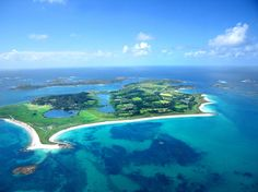 Tresco - Isles of Scilly - 28 miles off of the coast of Cornwall.