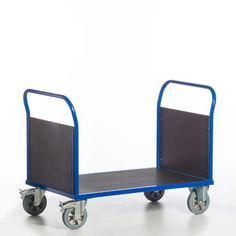 GTARDO.DE:  Doppel-Stirnwandwagen, Tragkraft 1200 kg, Ladefläche 2000x800 mm, Maße 2170x800 mm, Rad-Ø 200 mm 417,00 €