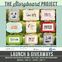 The Storyboard Project Launch Giveaway | Prairie Sweet Boutique (ends 6/29)