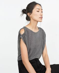ZARA - COLLECTION AW15 - FLOWING T-SHIRT