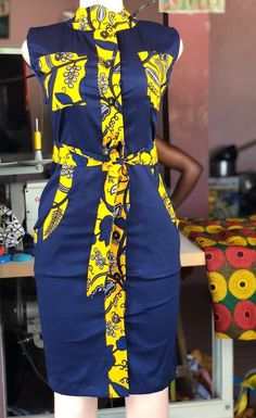 #africanprintdresses African Dresses For Kids, African Maxi Dresses, Latest African Fashion Dresses, African Print Fashion, African Attire, Ankara Dress Designs, African Print Dress Designs, African Traditional Dresses, Kitenge