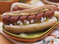 Hot dogs grilled to perfection!