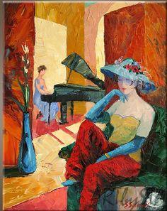 Stanislav Sidorov Сидоров Станислав Николаевич 1954 | Género pintor ruso