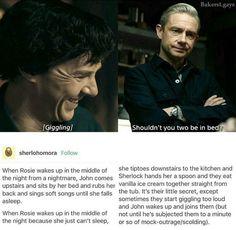 I need this right now I hate you all for giving me feels Sherlock Bbc, Sherlock Fandom, Sherlock Quotes, Watson Sherlock, Jim Moriarty, Sherlolly, Fictional World, John Watson, Johnlock