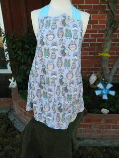 Wise owls apron by theperidots on Etsy