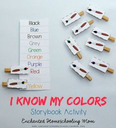 Practice your child's color skills with the Blue Goose board book by Nancy Tafuri and my FREE I Know My Colors Storybook Activity.