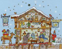 Cut Thru Nativity