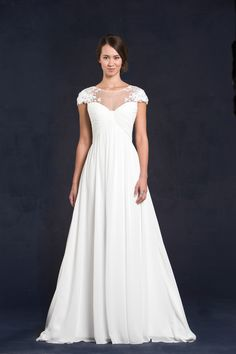 Our #Gabrielle gown from our 2015 Collection is so romantic!  To see more of our #Gabrielle gown go to www.lissimon.com.