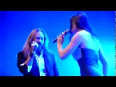 "▶ ""Phantom Of The Opera"" - Floor Jansen & Joacim - Christmas Metal Symphony 2013 Bochum - YouTube"
